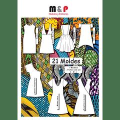 Set de Patrones de Vestidos