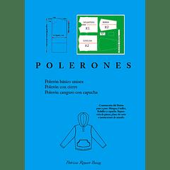 Polerones Infantiles. Realiza los patrones, tendido y armado. PDF