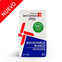 MEZCLA BIZCOCHUELO BLANCO 5 KG