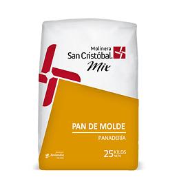 MEZCLA PAN DE MOLDE 25 KG