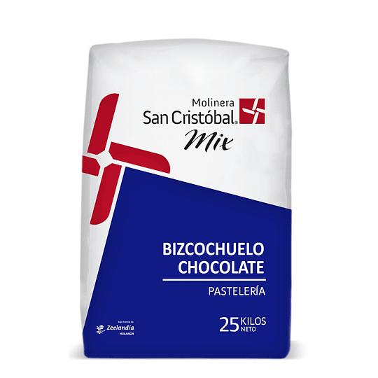 MEZCLA BIZCOCHUELO CHOCOLATE 25 KG