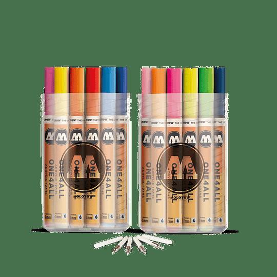 2 mm - 127 HS Set Full 40 Colores + puntas de recambio