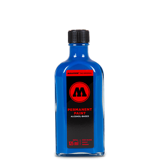 Permanent Paint 125 ml - Shock Blue Middle