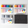 Aqua Color Brush Set Full 2