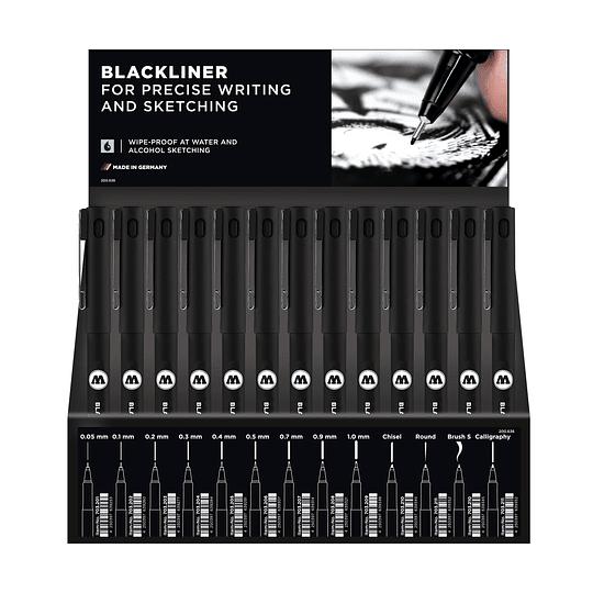 Display Blackliner - 78 pcs