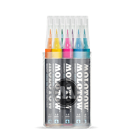 Pack 12 - Grafx Pump Softliner Aqua ink 1 mm