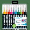 Pack 10 - Grafx Pump Softliner Aqua ink 1 mm Set basic 1