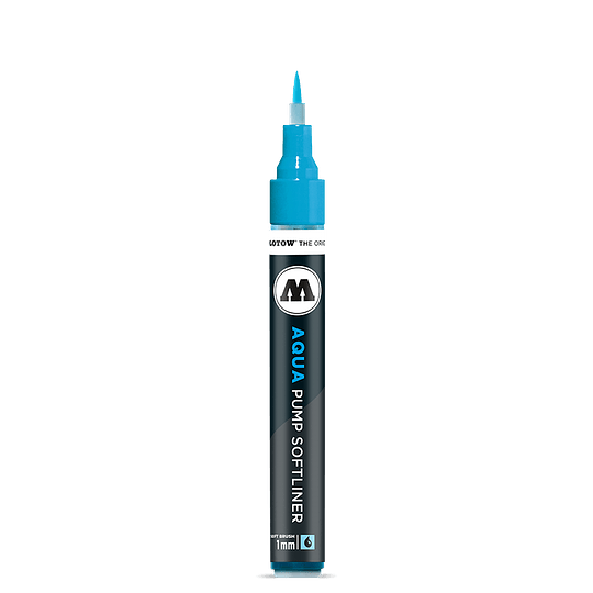 1 mm Grafx Pump Softliner Aqua ink