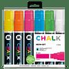 Pack 6 Chalk marker - 15 mm Neón-set