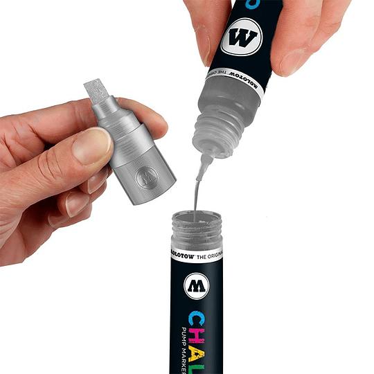 Pack 6 Chalk marker - 4-8 mm Neón-set