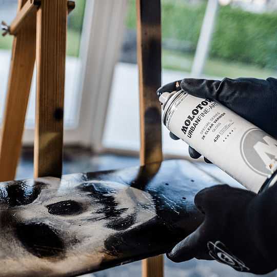 Spray UFA 2K Varnish 400ml #430 virnish gloss