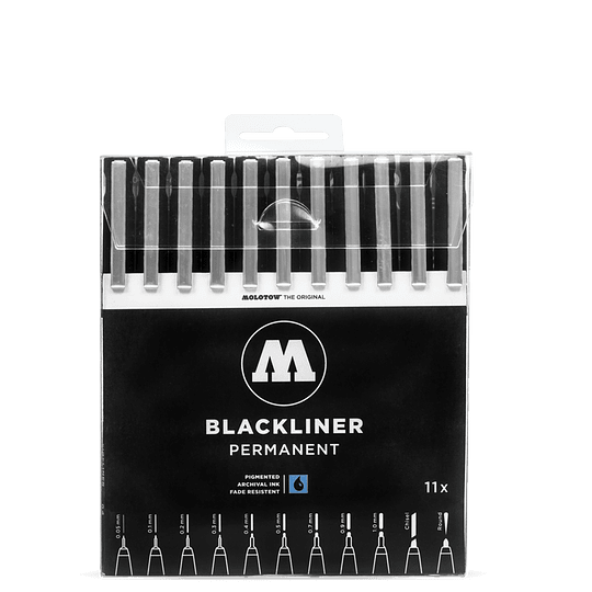 Pack 11 marcadores - Blackliner Set