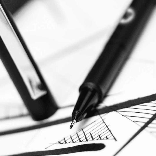 Pack 4 marcadores - Blackliner Set 1 (Venta sin empaque)