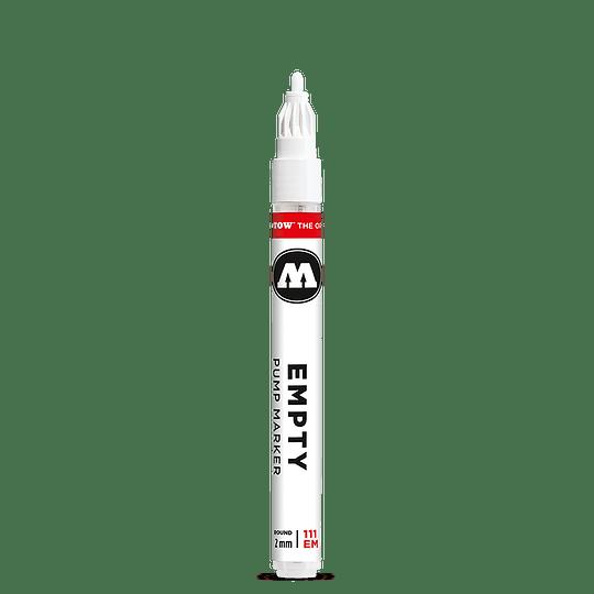 2 mm round - Empty marker 111EM