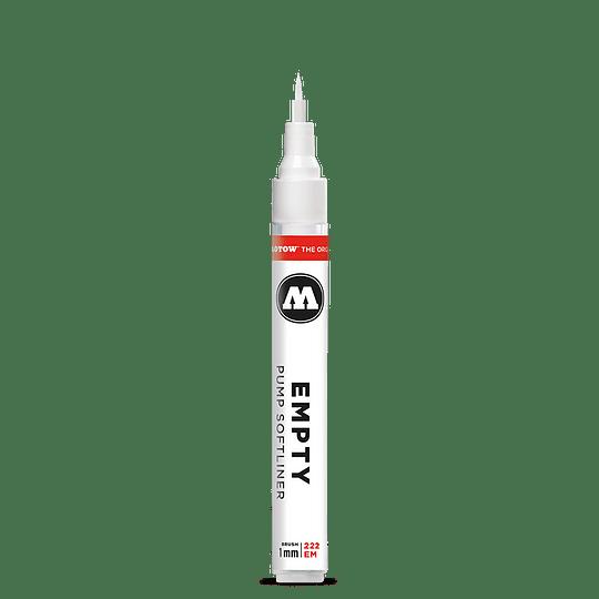 1 mm punta pincel - Emtpy marker 222EM