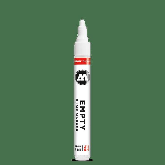 4 mm round - Emtpy marker 211EM
