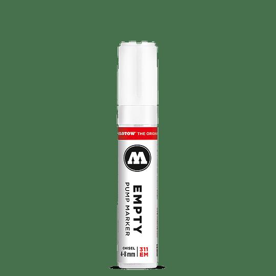 4 - 8 mm biselado - Emtpy marker 311EM