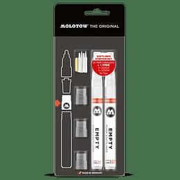 Pack Marcadores y Puntas Softliner Starter Set - 1 mm y 2 mm