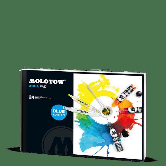A4 - 27 x 19,5 cm - Professional Artpad Aqua Pad