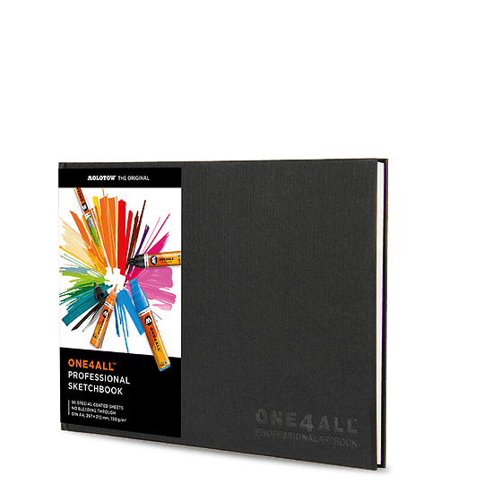 A4 - Professional Artbook One4All horizontal 29,7 x 21 cm