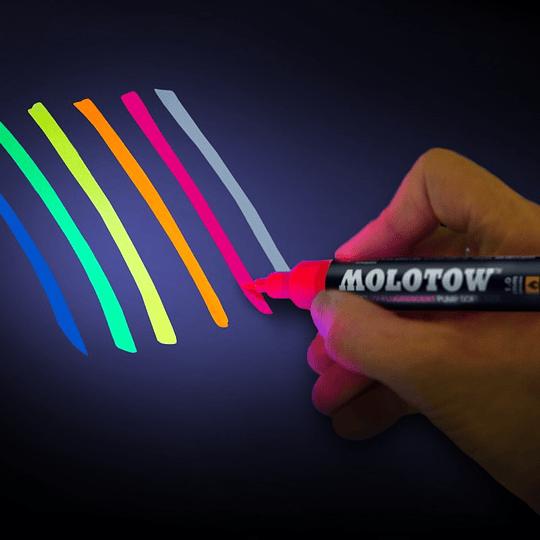 1mm Pump Softliner UV-Fluorescent
