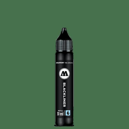 Refill blackliner brush 30 ml
