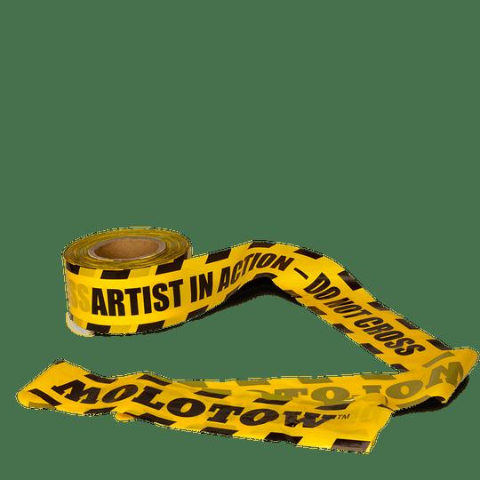 Cinta Barrera Artista en Acción