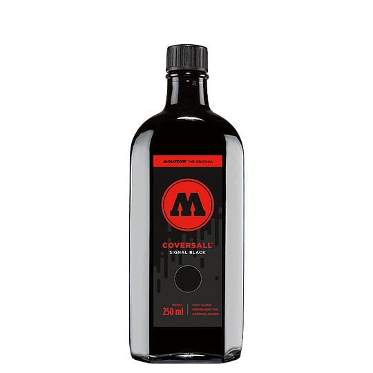 Refill Coversall 250ml - Signal Black