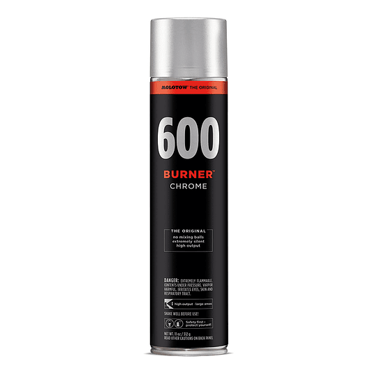 Spray BURNER™ chrome 600ml - Chrome