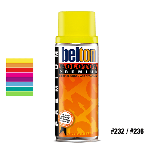 Spray PREMIUM NEON 400ml<br>#232 / #236