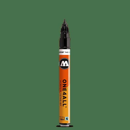 1 mm - Marcador acrílico One4All 127HS-EF #180 signal black