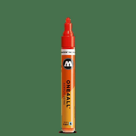 #218 neon orange fluorescent  <br> 227 HS