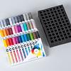 Full Set 36 marcadores Aqua Color Brush + Organizador