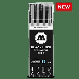 Pack 4 marcadores - Blackliner Set 3