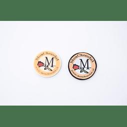 Monedas serigrafiadas