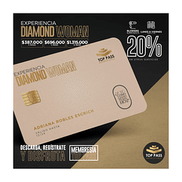 DIAMOND WOMAN - 12 MESES