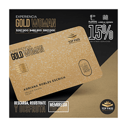 GOLD WOMAN - 12 MESES