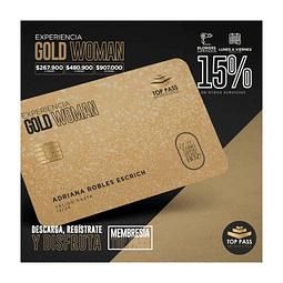 GOLD WOMAN - 3 MESES