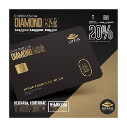 DIAMOND MAN - 12 MESES