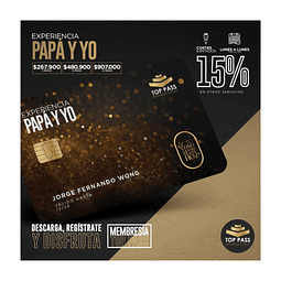 EXPERIENCIA PAPA Y YO - 12 MESES