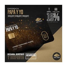 EXPERIENCIA PAPA Y YO - 6 MESES