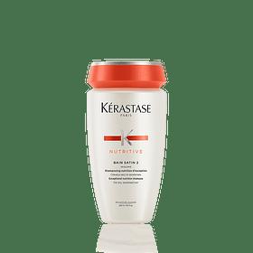 Shampoo Profesional Nutritive Bain Satin 2 250 mL