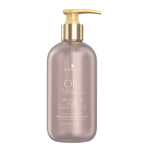 Oil Ultime Shampoo Marula y Rosa para cabellos finos