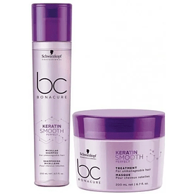 Duo Pack Bonacure Keratin Smooth + Bolsa Regalo