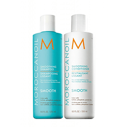 Duo Pack Smooth Moroccanoil con Aminorenew