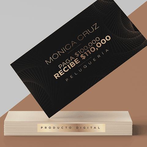 Producto Digital Peluquería Mónica Cruz $110.000