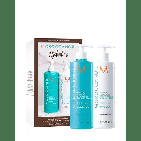 Duo Pack Moroccanoil Shampoo y Acondicionador Hidratante 500ml