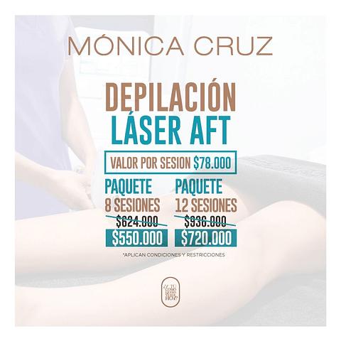 Depilación Laser AFT - Servicio en Punto de Venta