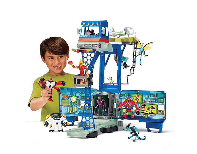 BEN 10 PLAY SET LUJO