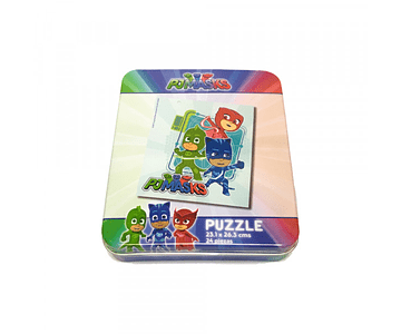 PJ Mask Mini Caja Metal